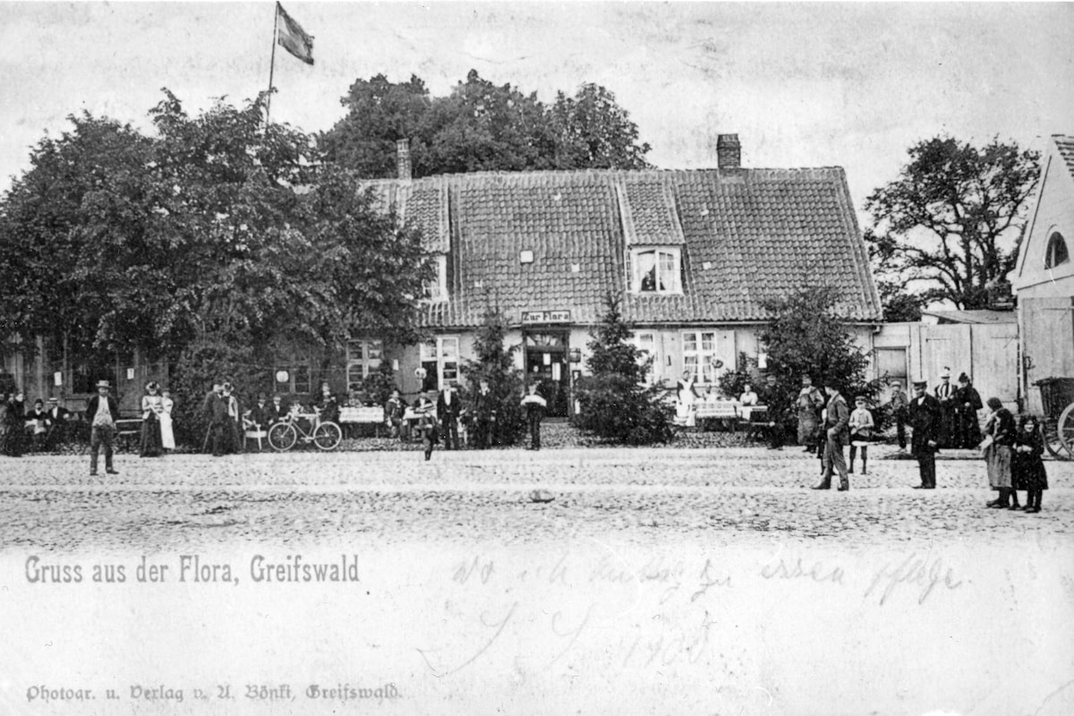 Gruß aus der Flora, Greifswald: Abriss droht!