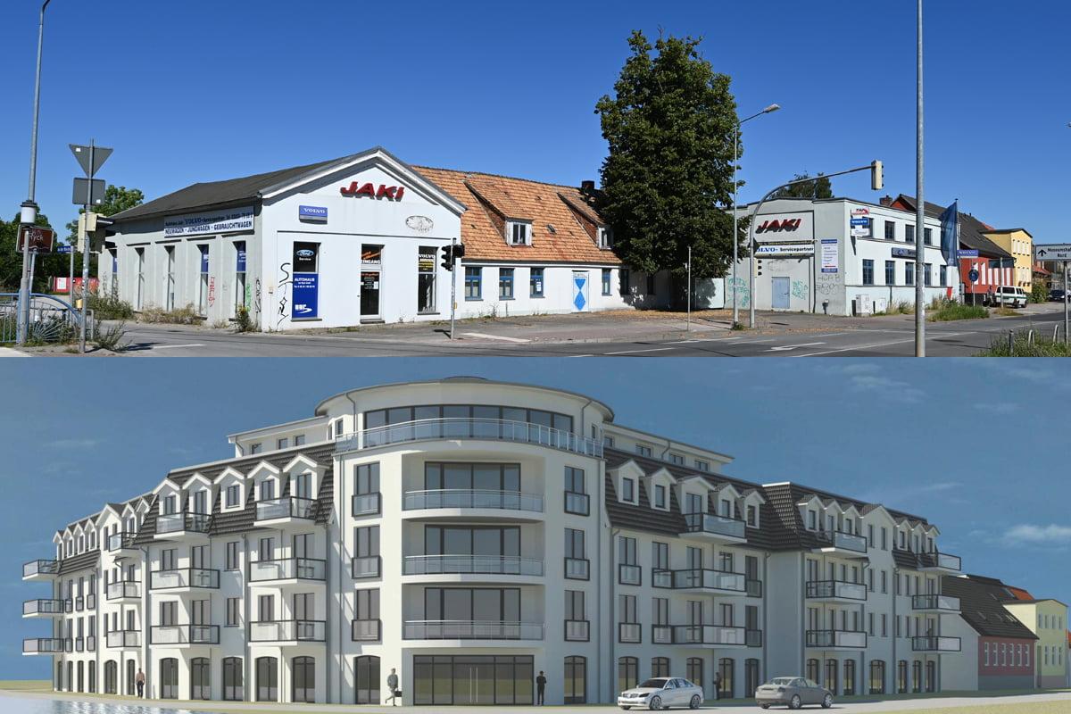 Offener Brief und Online-Petition der BI zum Bauvorhaben Stralsunder Straße 47/48