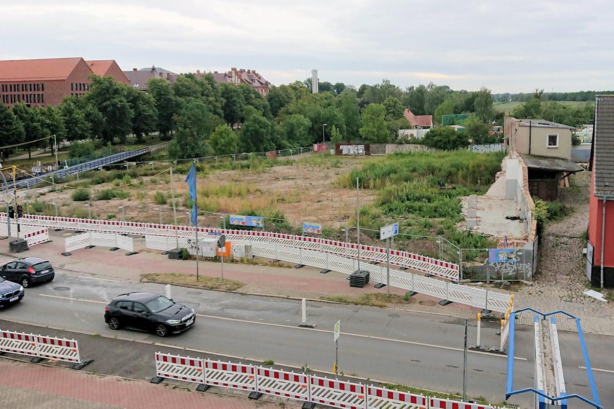 Altstadtinitiative zum Abriss des Ensembles Stralsunder Straße 47-48